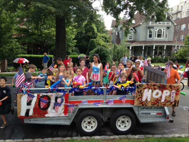 Fourth of July Parade By Montclair YMCA
