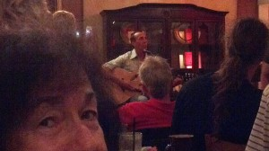 family fun:Regular staple Cara Renee's father, James, on acoustic. Photo courtesy of Christine Byczkiewic.