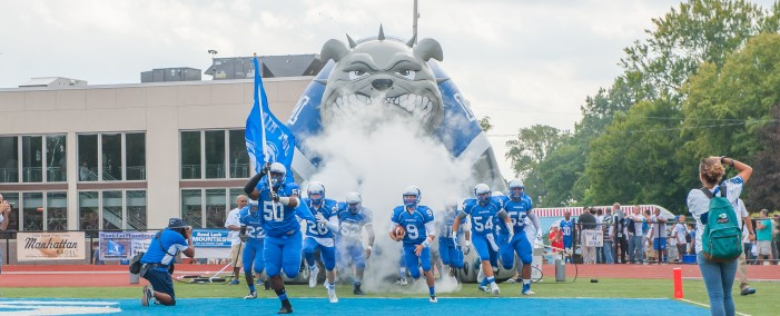 Montclair Football Wins Historic Game