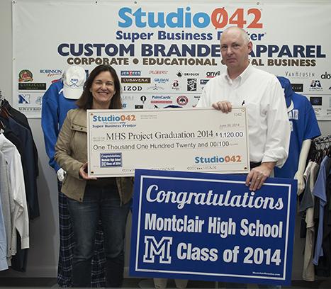 Studio042 Donates Over $1000 to MHS