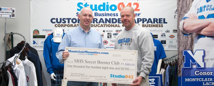 Studio042 Donates to MHS Girl's Soccer Team