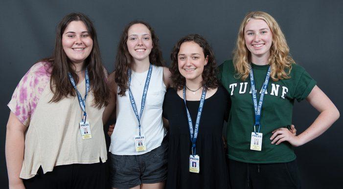 Rebecca Brownsword, Caitlin Kennedy, Natalie Toth and Maddy Firkser Earn Senior Spotlight