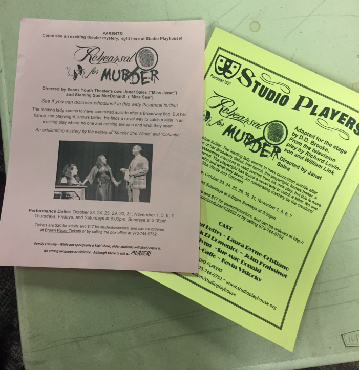 'Rehearsal for Murder'