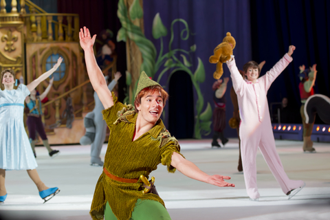 Peter Pan ends the Show