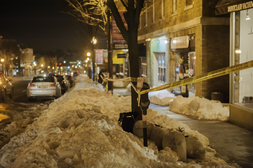 On Street Parking Blocked by Snow, Essex County says Job well done.