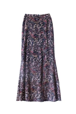 Maxi Skirt Look for Winter Season