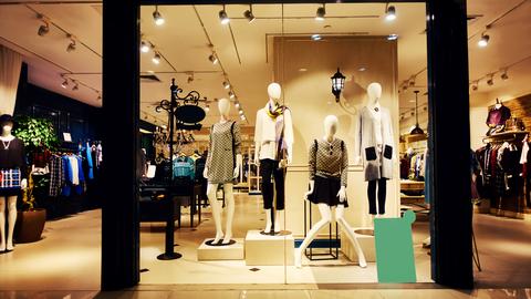 Fashion shop boutique store