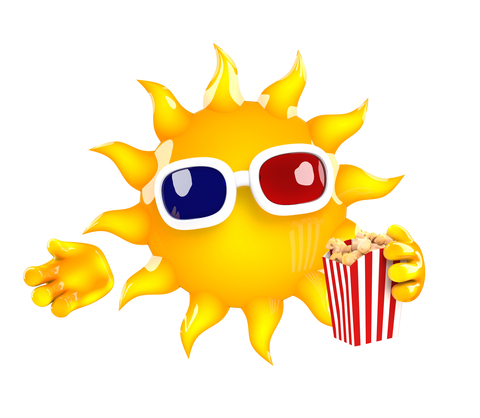 3d Sun at the movies