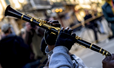 Jazz Clarinet on Royal Street New Orleans
