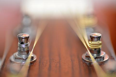 Guitar metal pin