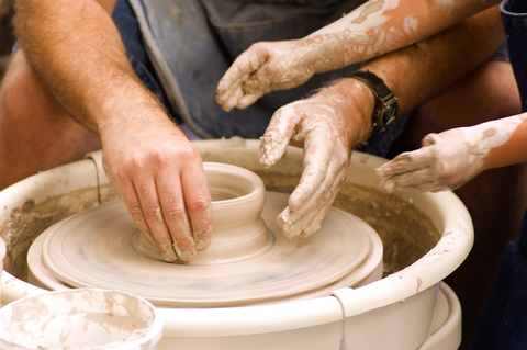 Pottery Throwing at MAM
