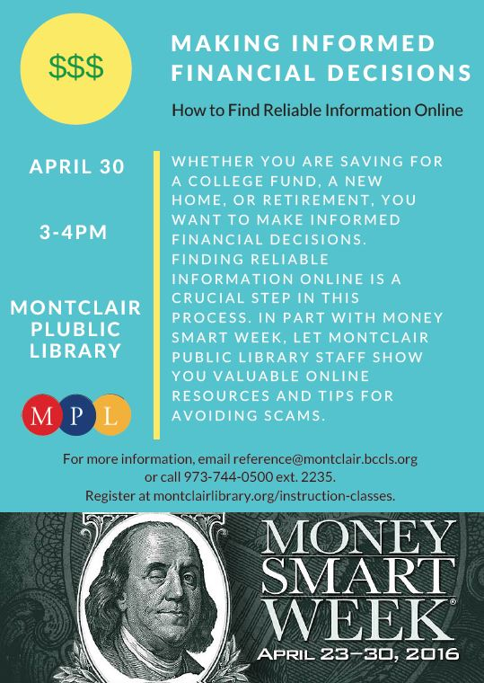 MPL: April 30 Workshop