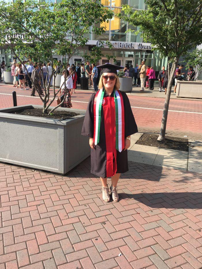 KellyMarie Braun of TMD Graduates