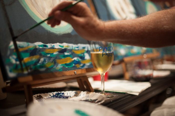 Pinot's Palette: Paint, Drink and Enjoy