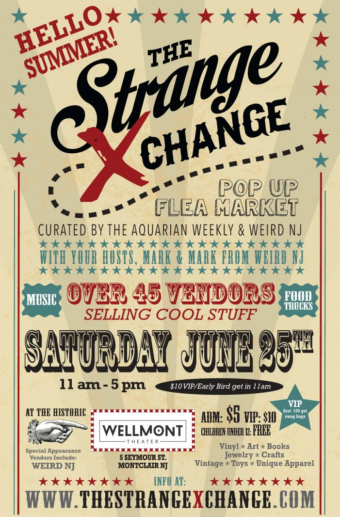 Strange Xchange Returns to Montclair
