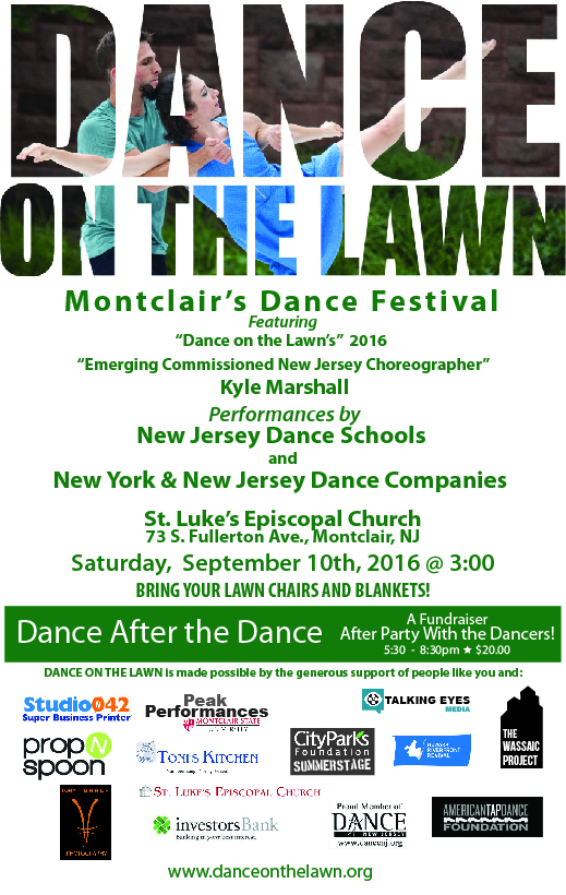dance on the lawn