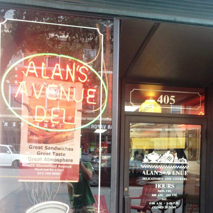 Alan's Avenue Deli in Montclair