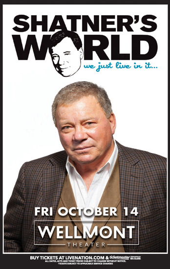 Shatner's World Comes to Montclair