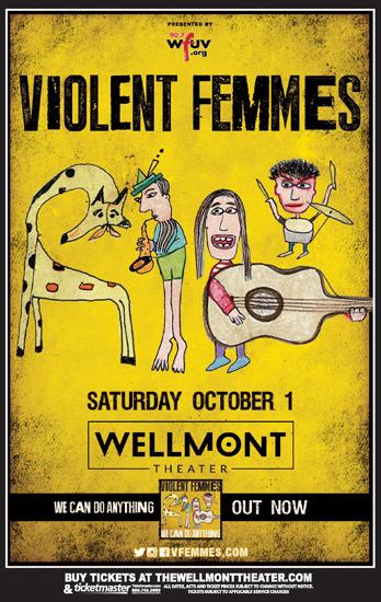 Violent Femmes Visits the Wellmont