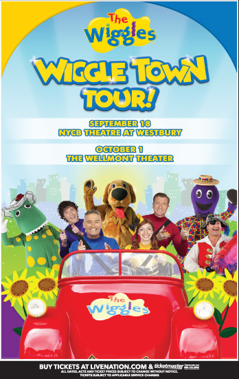 The Wiggles Town Tour to Montclair