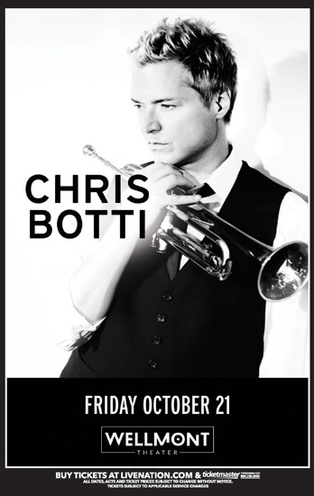 Chris Botti at the Wellmont