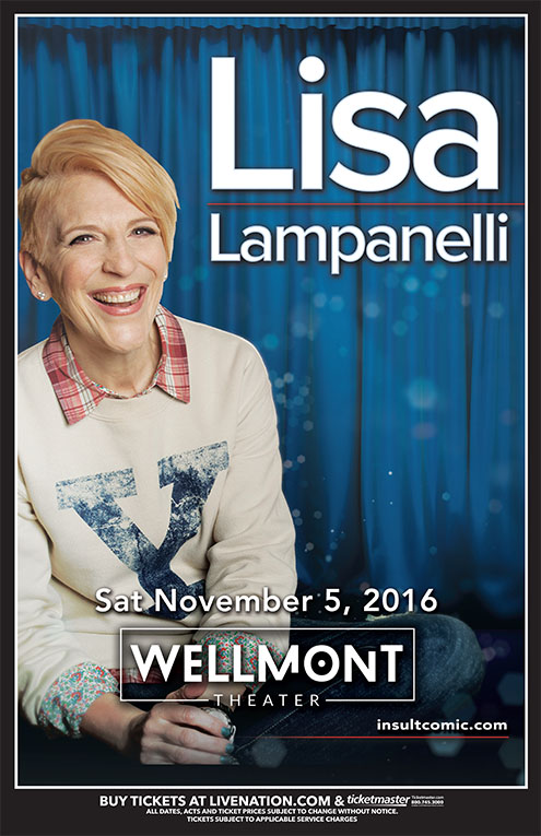 Lisa Lampanelli is Ready to Roast