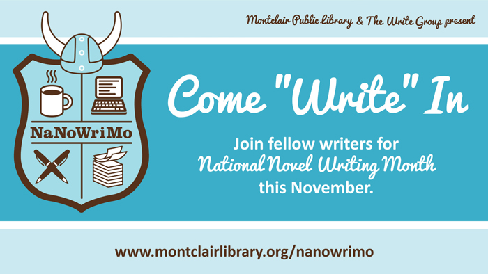 Write at MPL with the NaNoWriMo program