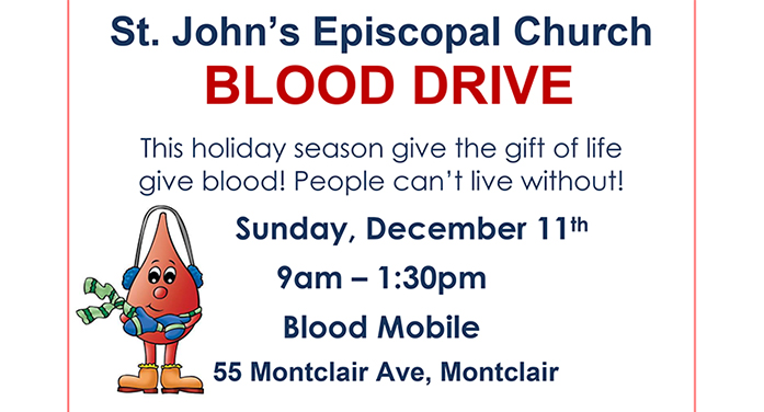 Blood Drive Courtesy of St. John's Church