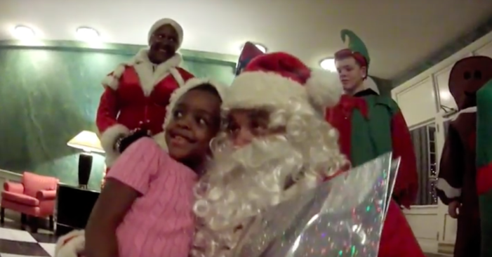Santa's Sixth Annual Montclair Visit