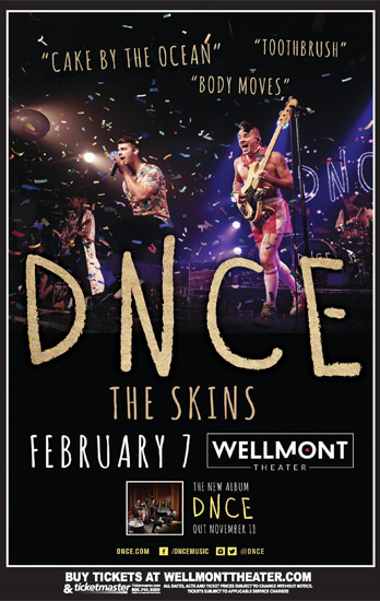 DNCE Will Make The Wellmont Dance