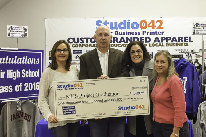 2017 Project Graduation Donation by Studio042