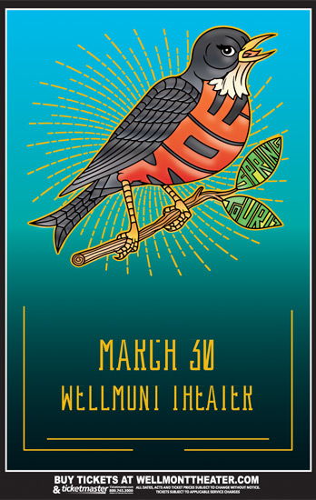 Moe Will Be At Wellmont Theater on March 30
