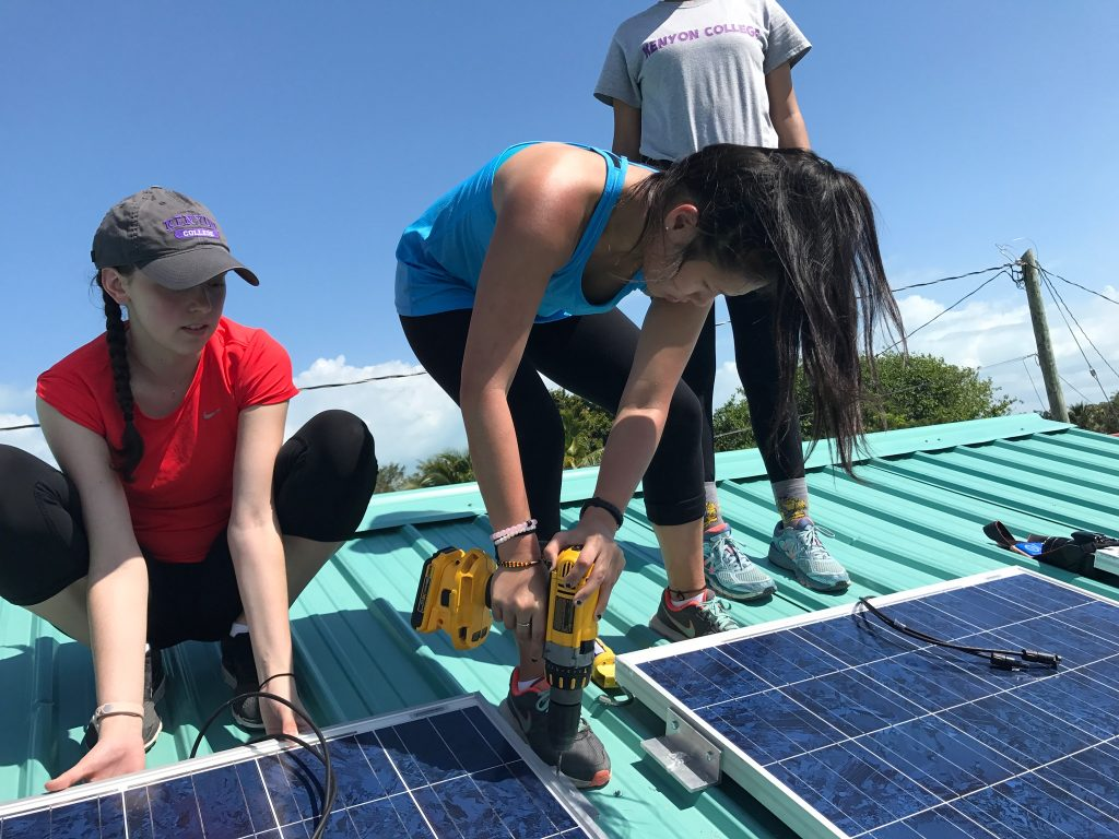 solar panel in belize