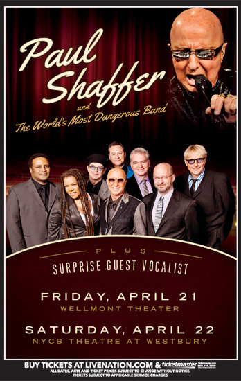 Paul Shaffer is Ready To Keep Rocking