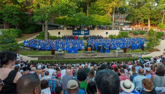 The Class of 2017 Graduates from Montclair High School
