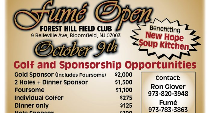 Fumé Hosts Golf Outing to Benefit New Hope Soup Kitchen