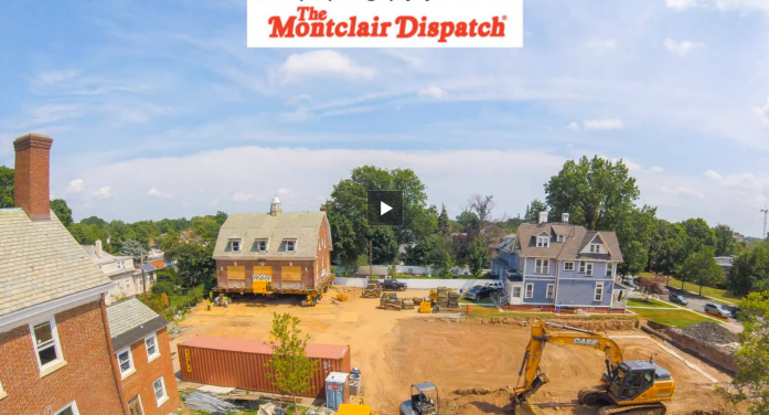 Time-Lapse of The George Inn Carriage House Move July 17, 2017