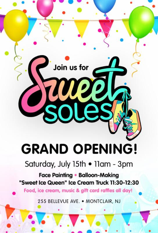 Sweet Soles Grand Opening in Montclair