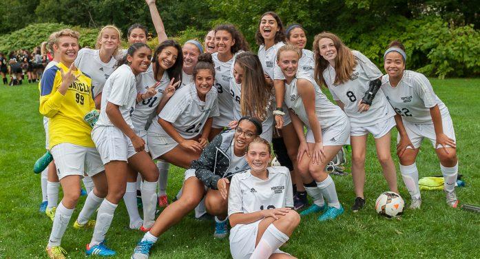 Montclair Girls JV Soccer Dominates West Essex 3:1 at Home 9-18-2017