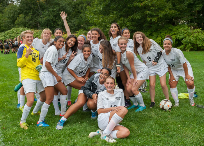 Montclair Girls JV Soccer Dominates West Essex 3:1 at Home 9-18-2017
