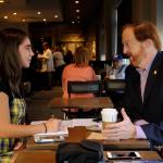 John Bartlett interviews with Grace Melville for the Montclair Dispatch