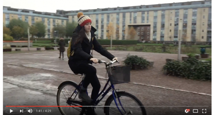 Caitlin Kennedy, MHS '15 and Kenyon '19, sends video postcard back from DIS in Copenhagen, Denmark