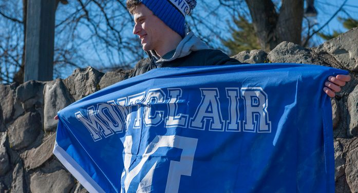 Montclair's favorite Spirit Pom-Pom hat is re-released by MontclairMounties.com for 2017