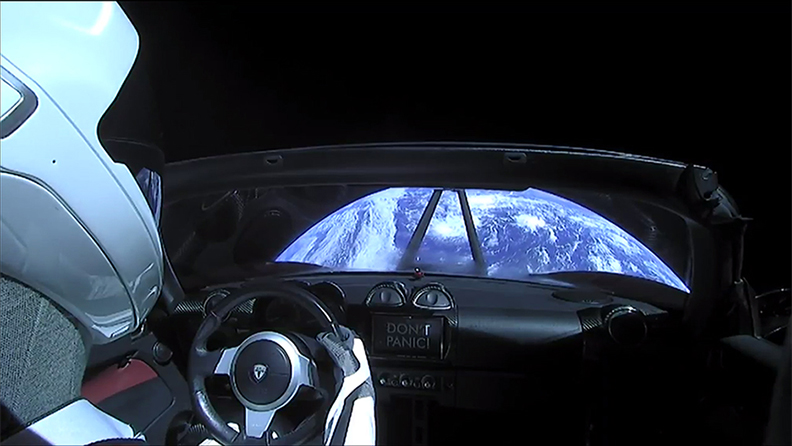 The Road Not Taken-Starman 2-2018, Image/SpaceX