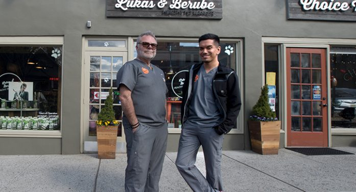 'Lukas and Berube' Montclair's Newest Healthy Pet Market Provides Treats And So Much More.