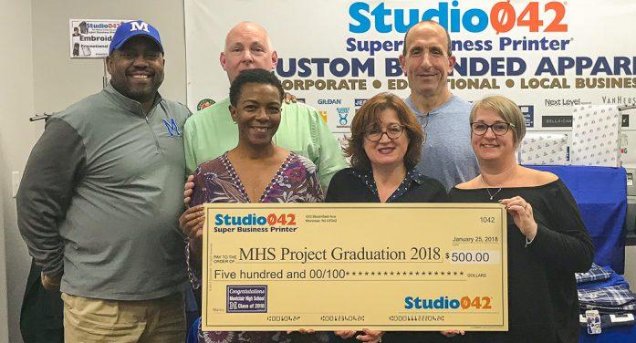 2018 MHS Project Graduation Donation by Studio042