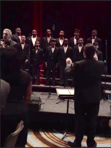 Bobby Valli Onstage During the Newark Boys Chorus School Gala // Photo Courtesy of Carol Castelluccio
