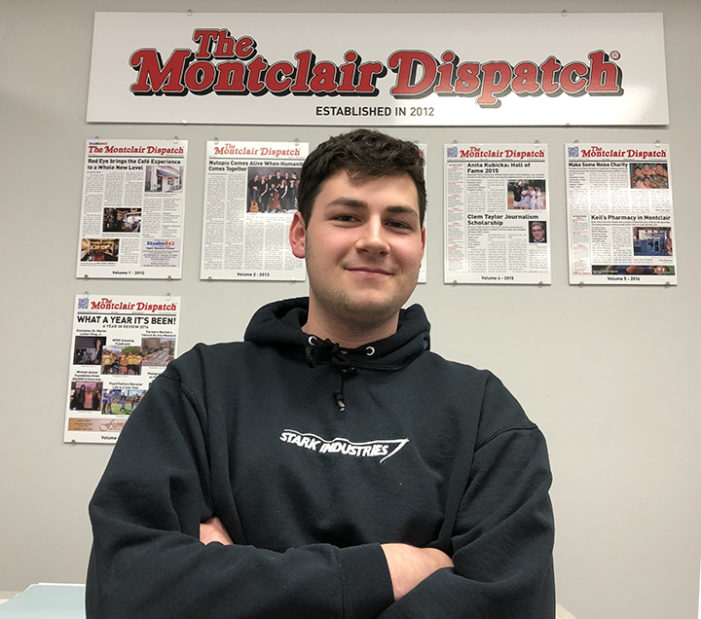 Blake Broder Earns Senior Option Internship at The Montclair Dispatch