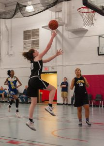 Ellie Kennedy Goes In for the Lay-Up // Photo Courtesy of Scott Kennedy