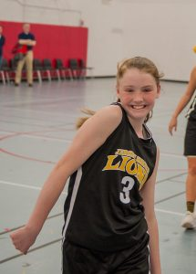Grace Colucci (#3) Is All Smiles // Photo Courtesy of Scott Kennedy